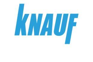 Logo Knauf em fundo branco